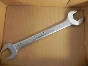 Craftsman Early V Series Standard Open End Wrench Big 1 3 8 1 7 16 Exc Used