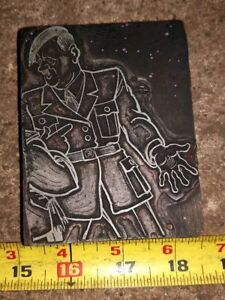 Printing Letterpress Printer s Cut A Real Antique adolf As A Dancer