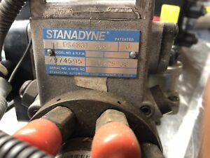 New 6 5l Chevy Gmc Turbo Diesel Fuel Injection Pump Stanadyne Injector Fsd