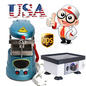 Usa Dental Vacuum Forming Former Molding Equipment Vibrating Vibrator Oscillator
