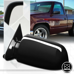 Left Driver Side Power Foldable Replacement Mirror For 88 02 Chevy Gmc Ck Tahoe