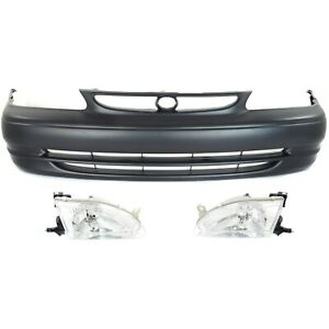 New Kit Auto Body Repair Front For Corolla 98 00 To1000189 To2502121 To2503121