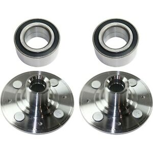 New Wheel Hub Front Driver Passenger Side For Civic Coupe Sedan 44600s04a00