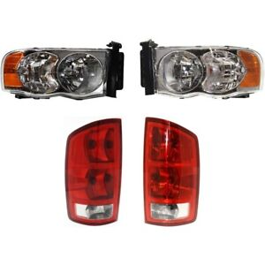 Auto Light Kit For 2002 2005 Dodge Ram 1500 Driver And Passenger Side