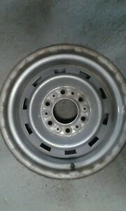Original 15 Gm Rally Wheel 1973 87 15x8 6 Lug Truck K5 Blazer 4x4 Gmc Chevy