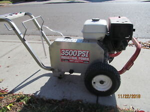 Commercial Honda Motor Pressure Washer 3500 Psi Gpm Belt Drive
