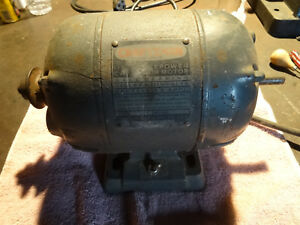 Craftsman 1 2hp Lathe Drill Motor With Forward Reverse Machinist Jewelers Tool