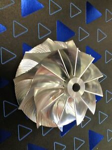 Billet Turbocharger Compressor Wheel Racing Garrett Gtx3576 58 76 1mm