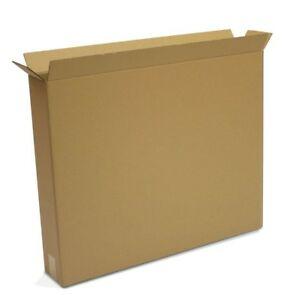 Packing Boxes For Moving Large Tv Shipping Storing Lightweight Cardboard 10 Pack