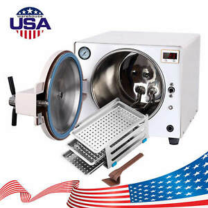 18 L Dental Autoclave Steam Sterilizer Medical Sterilization Stainless Steel Ups