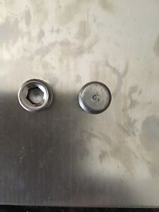 Pontiac 326 350 389 400 421 428 455 Front Oil Galley Plugs
