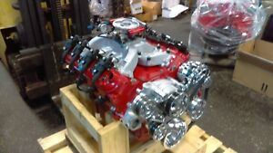 Chevy Ls Crate Engine 6 0l Ls2 Ls1 Ls3 Lsx 570hp billet Specialties Serp Kit