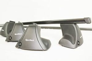 Complete Sportrack Latitude By Thule Locking Roof Rack For Audi A3 Kit1417