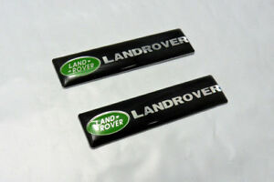 New For Land Rover 2 New Decals Badges Emblems Free Ship