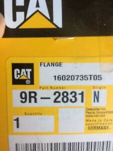 Caterpillar 9r2831 Flange New Oem