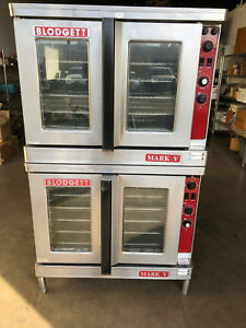 Blodgett Mark v Double Stack Convection Oven In 208v Electric