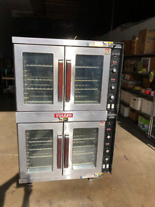 Vulcan Et88 Double Stack Convection Oven In 208v 1 phase Electric