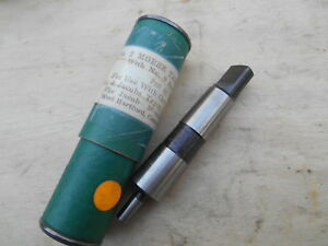 Jacobs Brand Drill Chuck Arbor Mt2 Jt0 Nos