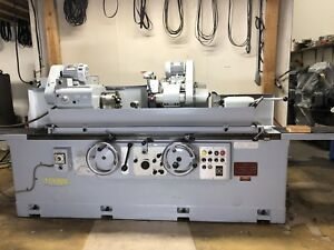 Toyoda Cylindrical Grinder Gup 32 100 With Drop Down Id Grinding 1985 1987