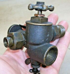 1 2 Side Mount Lunkenheimer Carb Or Fuel Mixer Old Gas Hit And Miss Engine