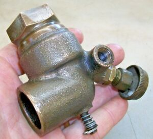 3 4 No Name Brass Carb Or Fuel Mixer Old Gas Hit And Miss Engine