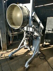 Hobart 140 Qt Mixer Bowl Lift Portable Tilt Air Powered Heavy Duty