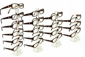 Clear Acrylic 6 5 4 3 Tier Eyeglass Sunglasses Glasses Display Stand