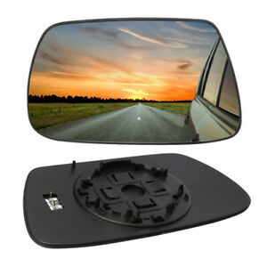 Left Driver Side Wing Clear Mirror Glass Heated For Jeep Grand Cherokee 2005 10