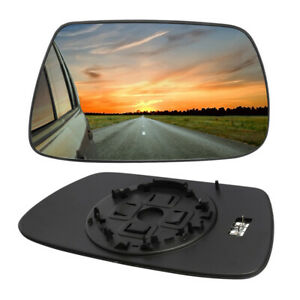 Rh Passenger Side Wing Clear Mirror Glass Heated For Jeep Grand Cherokee 2005 10