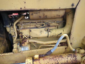 Caterpillar 3204 Diesel Engine Runs Mint D3 Bulldozer Crawler Dozer D3b