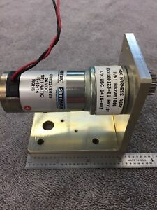 Pittman Gear Motor With Bracket 12 24 V 187 1 Ratio Reducer 3 16 Shaft Strong