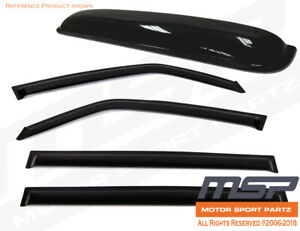 Jdm Out channel Vent Visors 5pcs Deflector Sunroof For Subaru Legacy 5dr 09 14
