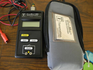 Transmation Checkmate 600 23415 Pressure Callibrator 300 Psi Case Sold As Is