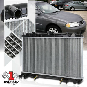 Aluminum Core Radiator Oe Replacement For 00 06 Nissan Sentra 1 8 At Dpi 2346