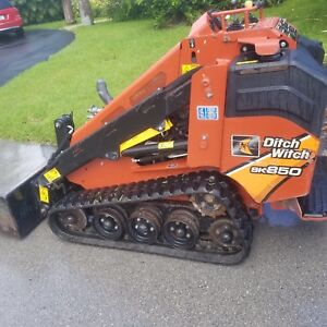 Ditch Witch Sk850 2016 In Excellent Condition Runs Well