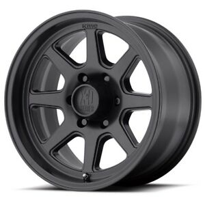 15 Inch Satin Black Wheels Rims Fits Nissan Toyota Chevy Gm Truck Xd301 6 Lug