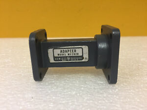 Hp Agilent Mx292b wr 75 To Wr 90 2 5 L Waveguide Transition Tested
