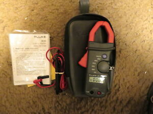 Fluke Clamp Multimeter 30 32 case Manual