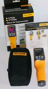 Fluke Flk vt04a Visual Infrared Thermometer With Pyroblen Plus Brand New