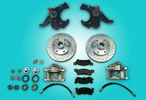 Chevrolet Gmc Chevy C10 Truck Disc Brake Conversion 6 Lug Stock Height Spindles