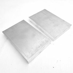 1 Thick Aluminum 6061 Plate 6 5 X 8 75 Long Qty 2 Sku 137218
