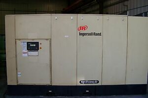 Ingersoll Rand 450hp Two Stage 120 Psi Rotary Screw Air Compressor Warranty