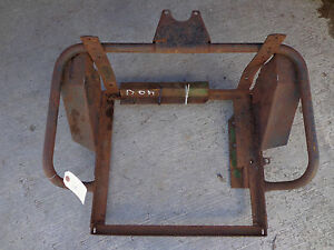 John Deere 320 330 40 420 430 U Utility Seat Frame Am2211t With Supports