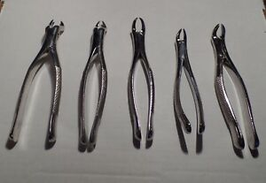 Lot Of 5 Dental Instruments see Pictures For Details