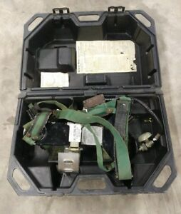 Msa Model 401 Scba Self Contained Breathing Apparatus Harness Regulator And Case