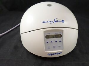 Eppendorf Minispin Plus 5453 Micro Centrifuge F45 12 11 12 position Rotor