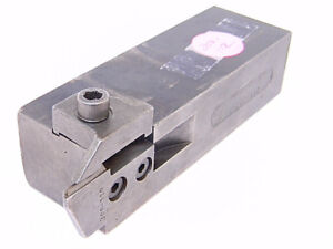 Used Manchester Square Shank O d Grooving Right Hand Tool Holder 203 112