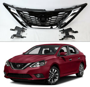 Front Bumper Upper Grille Assembly 62310 3yu0a For Nissan Sentra 2016 2018