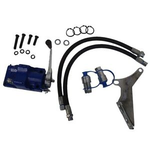 Single Spool Double Acting Hydraulic Remote Valve Kit Ford New Holland Tractor