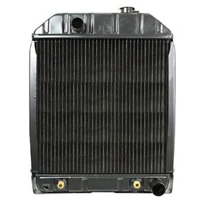 D8nn8005sb Radiator With Cooler For Ford Tractor 345c 445c 535 545 4500 5100